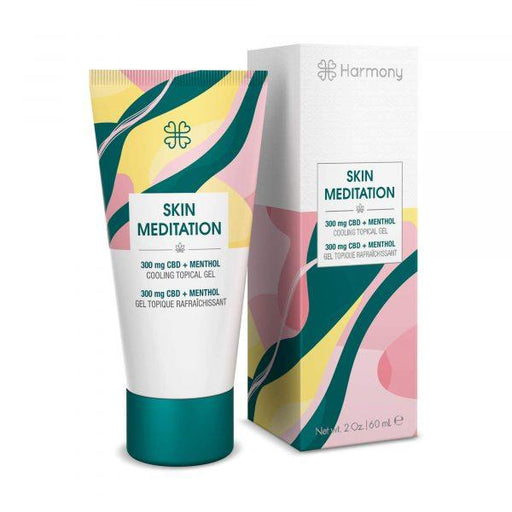 Harmony Skin Meditation Cooling Topical Gel 300mg 60ml