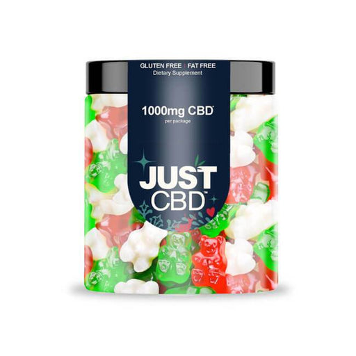 Just CBD Gummies Limited Edition Holiday Gummy Bears