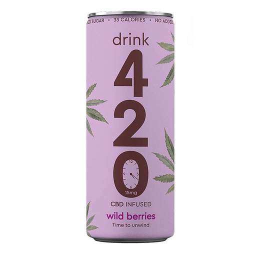 Drink 420 Wild Berries 15mg CBD 250ml