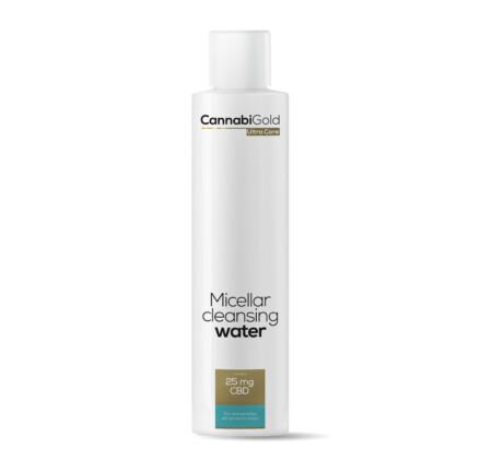 CannabiGold Ultra Care Micellar Cleansing Water Dry and Sensitive Skin Prone to Atopy 200ml 25mg