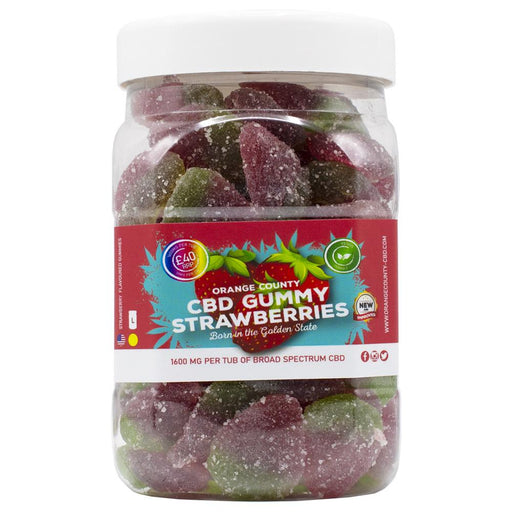 Orange County CBD Gummy Strawberry