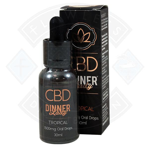 Dinner Lady CBD Tropical Oral Drops 30ml