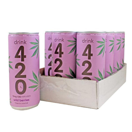 Drink 420 Wild Berries 15mg CBD 250ml (pack of 12)