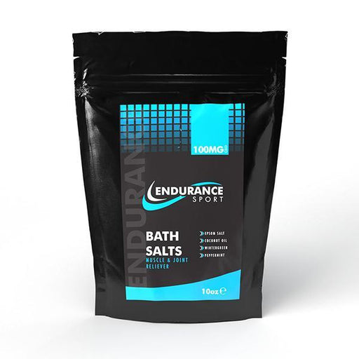 Endurance Sport Bath Salts Muscle & Joint Reliever 100mg 10 Oz