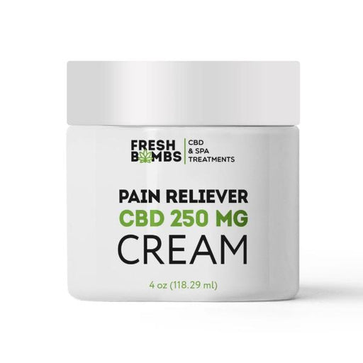 Fresh Bombs CBD Pain Reliever Cream 250 mg 4 Oz