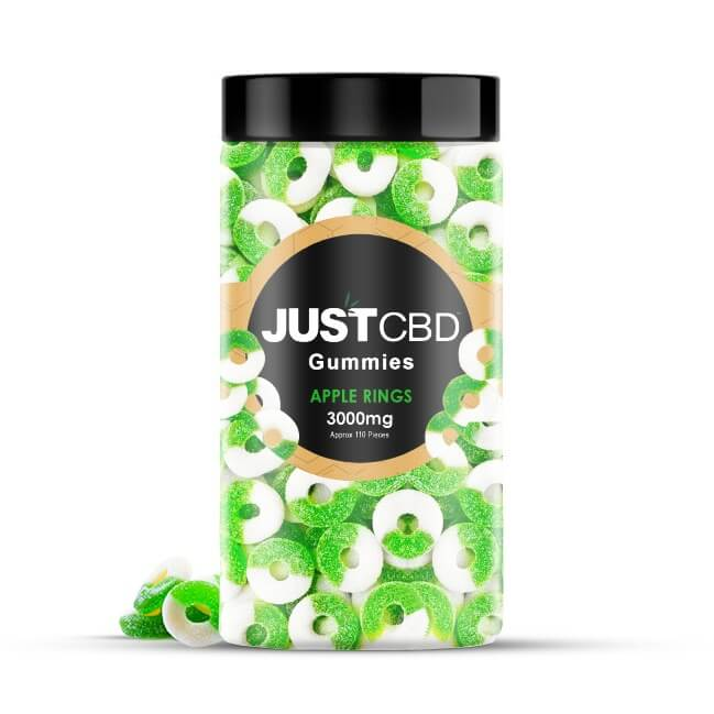 Just CBD Gummies Apple Rings