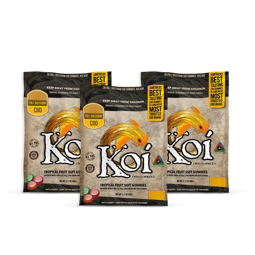 Koi CBD Gummies Tropical Fruit Soft Gummies