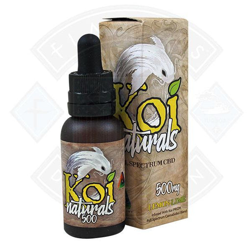 Koi Naturals Lemon Lime Full Spectrum CBD Supplement 30ml
