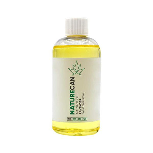 Naturecan Massage Oil Lavender 500mg 100ml