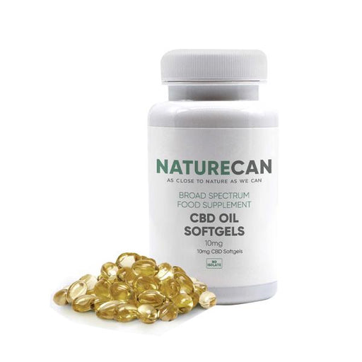 Naturecan CBD Broad Spectrum 10mg Hemp Oil Softgels 30pcs