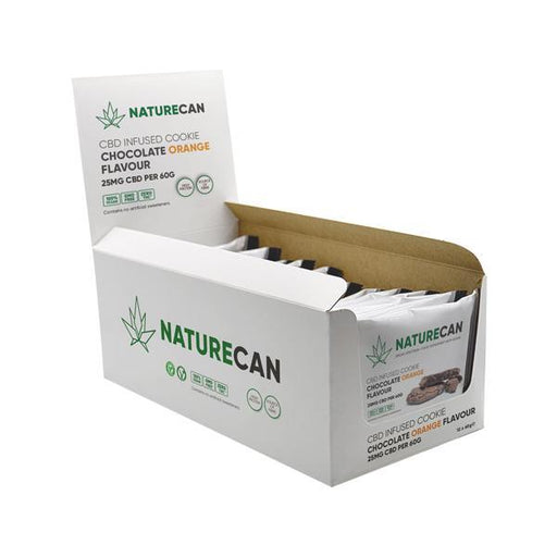 Naturecan CBD Infused Cookie 25mg 60g (12 IN A BOX)