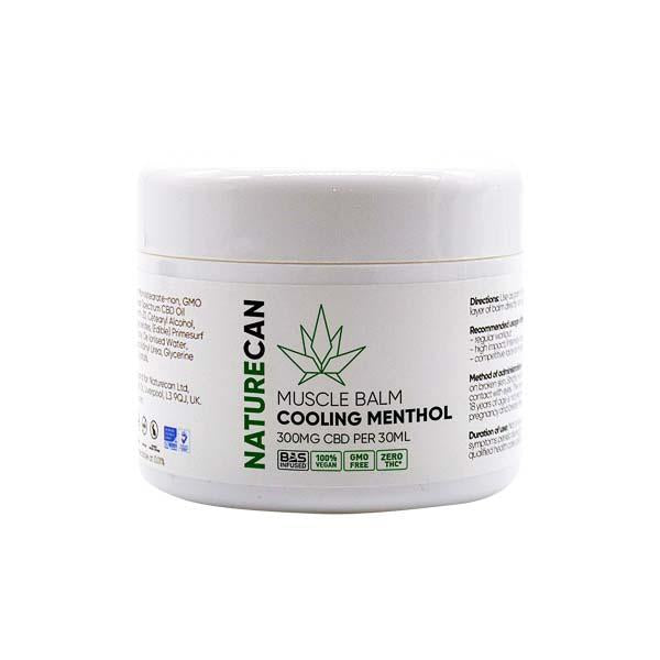 Naturecan CBD Muscle Balm 300mg 30ml