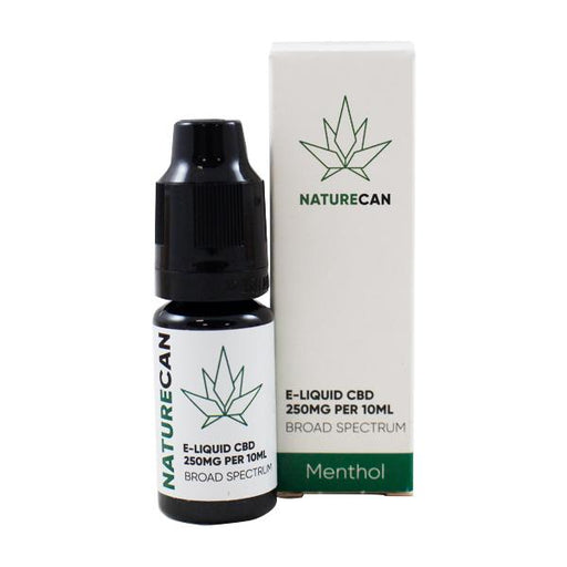 Naturecan CBD E-liquid Menthol 10ml