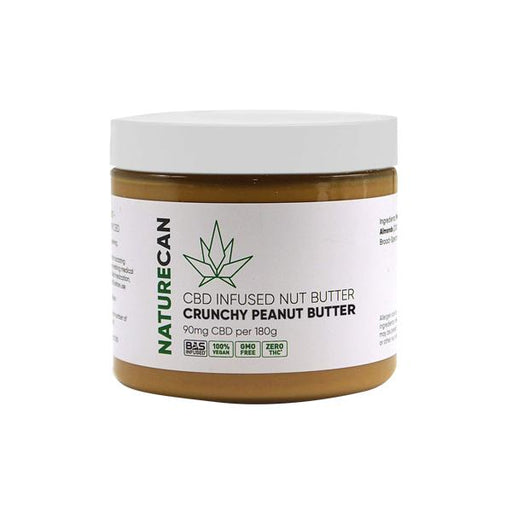 Naturecan CBD Infused Nut Butter 90mg 180g