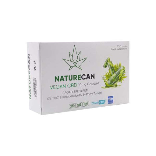 Naturecan Vegan CBD Capsules 30pcs (10mg per capsule)