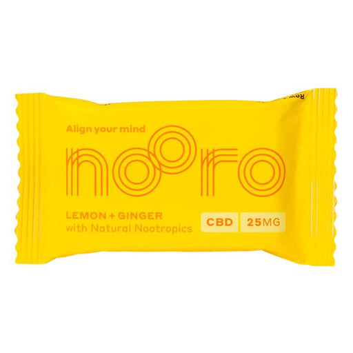 Nooro CBD Raw+Vegan Oat Flapjack 25mg 1pcs