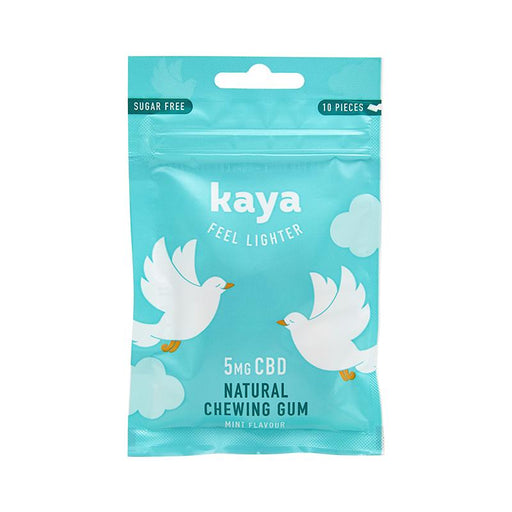 Kaya Feel Lighter Natural Chewing Gum 5mg CBD 10pcs