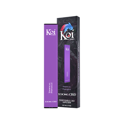 Koi CBD Disposable Vape Bar Tropical Popsicle 100mg