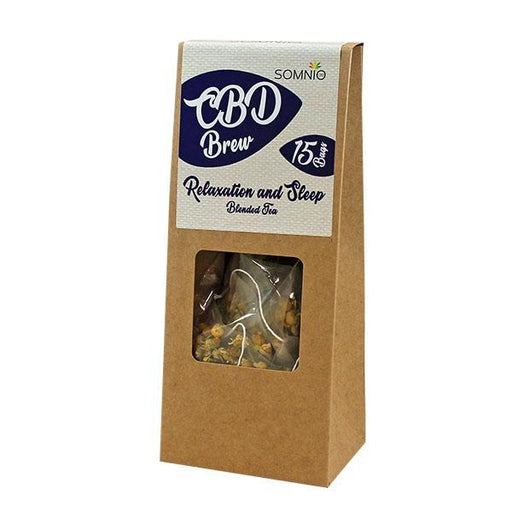 Somnio CBD Brew Blended Tea 15 bags 30g - 45mg (3mg Per Bag)