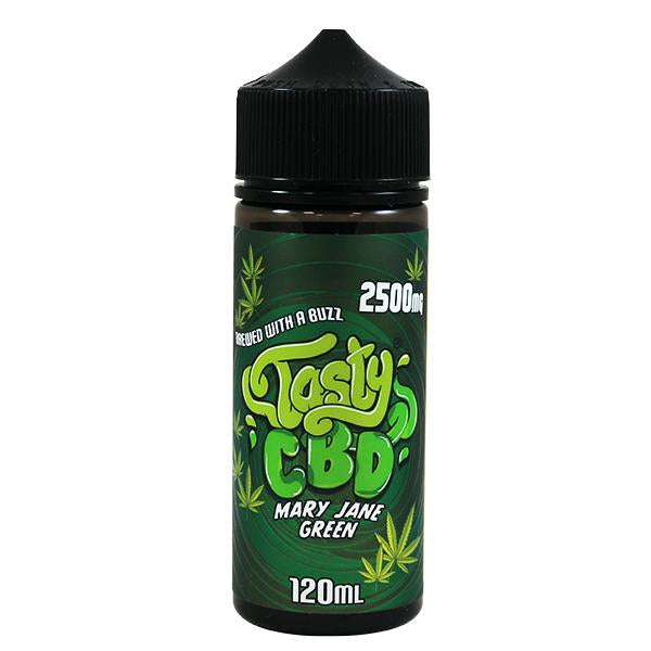 Tasty CBD Mary Jane Green 100ml E-Liquid