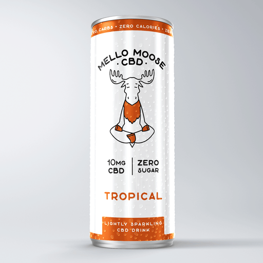 Mello Moose CBD Lightly Sparkling CBD Drink 10mg 250ml