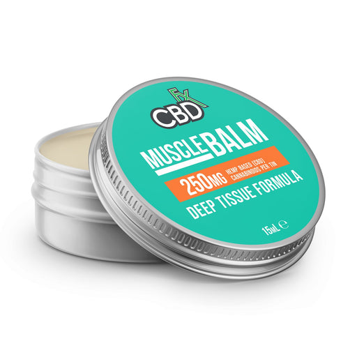 CBD +FX Muscle Balm Deep Tissue Formula 250mg 15ml