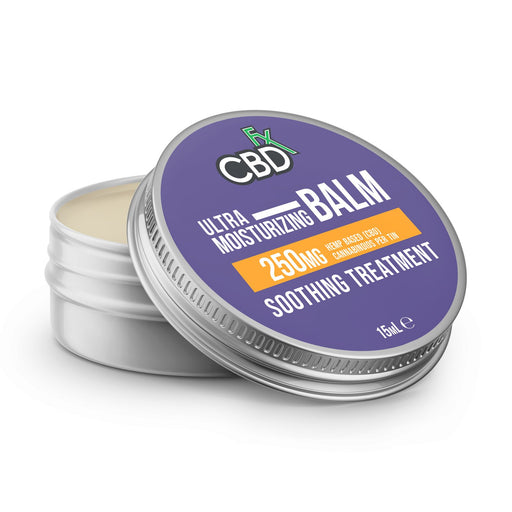CBD +FX Ultra Moisturizing Balm Soothing Treatment 250mg 15ml