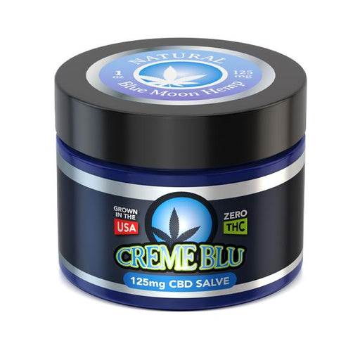 Blue Moon Hemp CBD Creme Blu Salve (Natural)