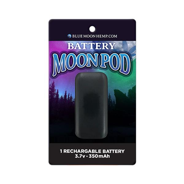 Blue Moon Hemp Battery Moon Pod 3.7V 350mAh