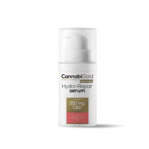 CannabiGold Ultra Care Hydro-Repair Serum Very Sensitive and Allergy-Prone Skin 30ml 150mg