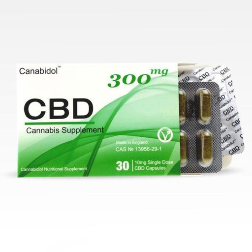 Canabidol CBD Cannabis Supplement (30 capsules) 300mg