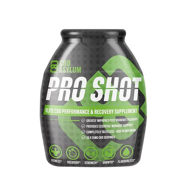 Asylum CBD Pro Shot 60ml 15mg per serving