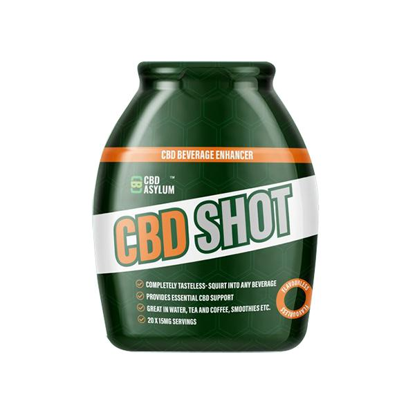 Asylum CBD Pro Shot 60ml 25mg per serving