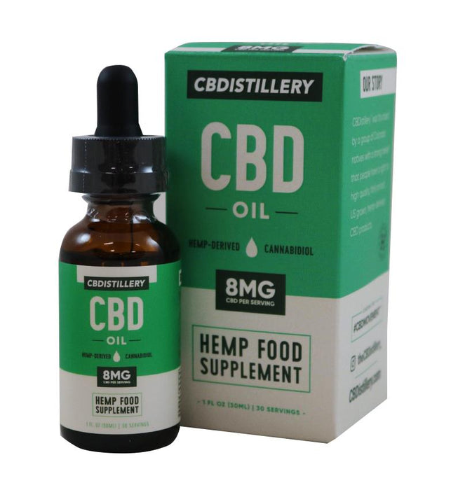 CBDISTILLERY CBD Oil Hemp Food Supplement 30ml