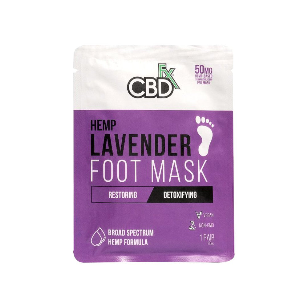 CBD +FX Foot Mask 50mg (10PCS IN PACK)