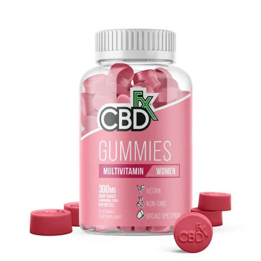 CBD FX Multivitamin Gummies 300mg 60 gummies