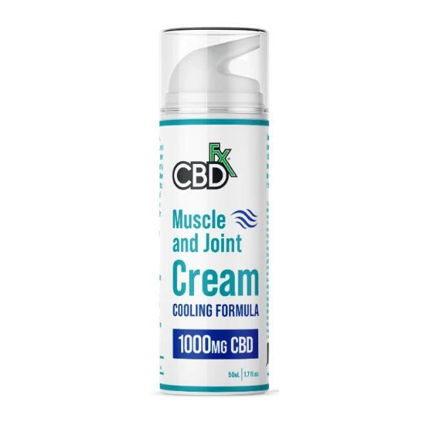 CBD +FX Muscle and Joint Cream Cooling Formula 50ml