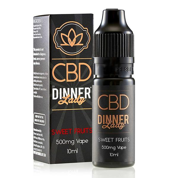Dinner Lady CBD Sweet Fruits 10ml