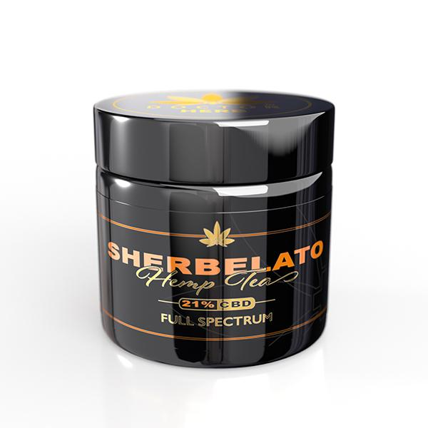 Doctor Herb Sherbelato Hemp Tea 21% CBD