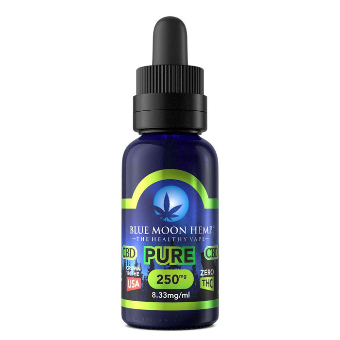 Blue Moon Hemp CBD - Pure 30ml E-Liquid