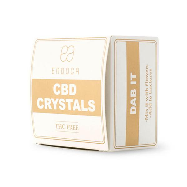Endoca CBD Crystals 500mg 0.5gram