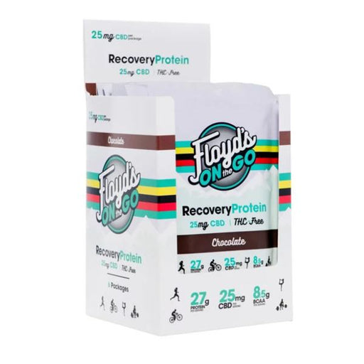 Floyd's On The Go Recovery Protein 25mg 45g (6 PACK)
