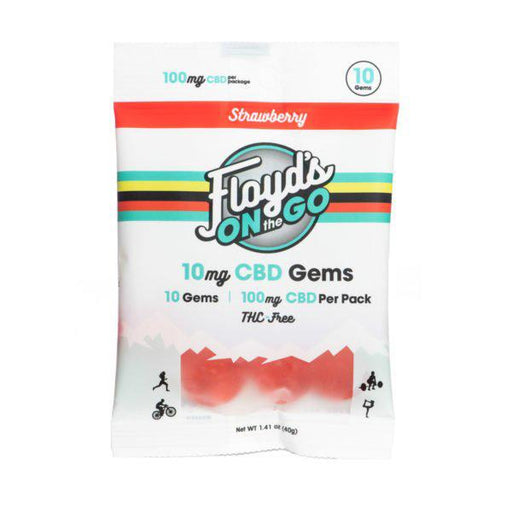 Floyd's On The Go CBD Gems Strawberry