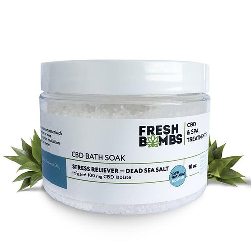 Fresh Bombs CBD Bath Soak 100mg CBD