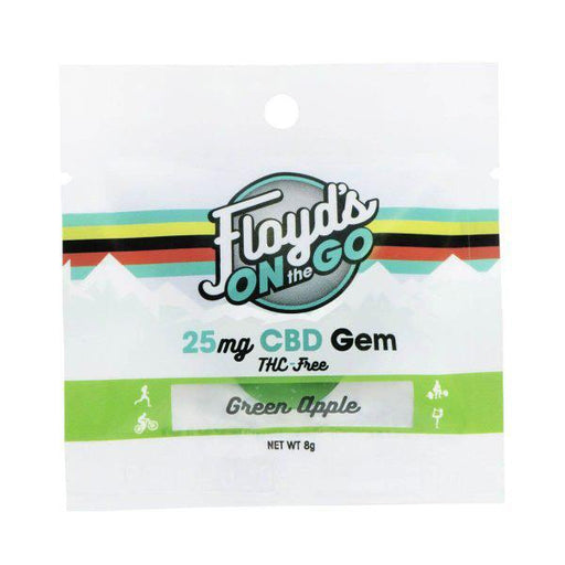 Floyd's On The Go CBD Gem Green Apple 1pcs/pack (24 PACK)