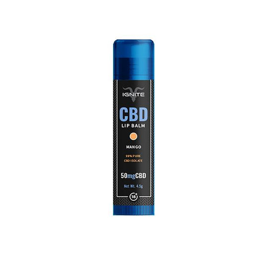 Ignite CBD Lip Balm Mango 50mg
