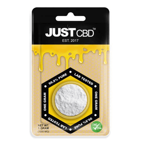 Just CBD Isolate Powder 99.9% Pure 1g