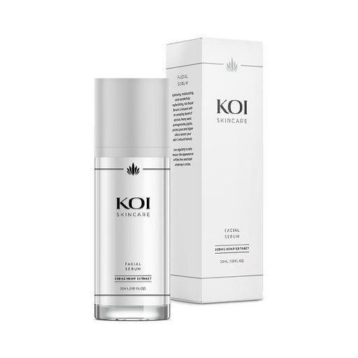 Koi Skincare Facial Serum Hemp Extract 500mg 30ml