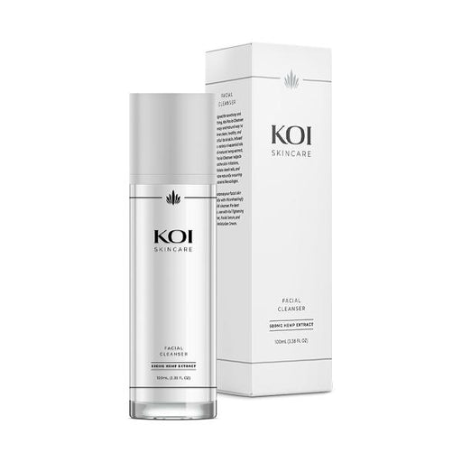 Koi Skincare Facial Cleanser Hemp Extract 500mg 100ml