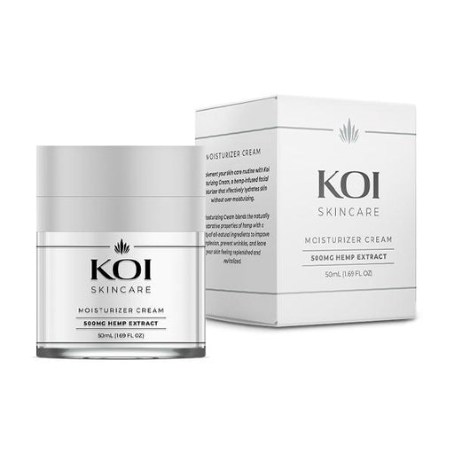 Koi Skincare Moisturizer Cream Hemp Extract 500mg 50ml